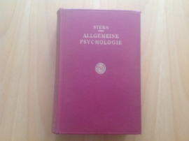 Allgemeine Psychologie auf personalistischer Grundlage - W. Stern