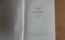 Befehl im Widerstreit - A. Heusinger