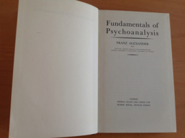 Fundamentals of psychoanalysis - F. Alexander