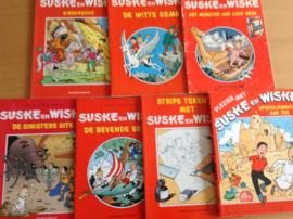 Pakket a 7 speciale Suske en Wiske stripalbums - W. Vandersteen