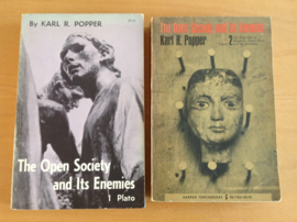 Set a 2x The Open Society and its Ennemies, volume 1 + 2 - K.R. Popper