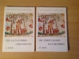 Set a 2x Die christlichen Katacomben in Rom / Les catacombes chretiennes a Rome - P. Testini