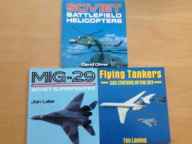Pakket a 3x militaire vliegtuigen