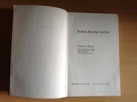 Rolling Bearing Analysis - T.A. Harris