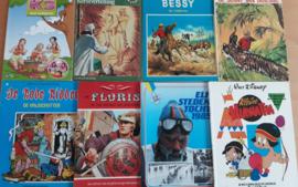 Pakket a 17 stripboeken - diverse auteurs