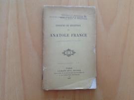 Discours de reception de Anatole France