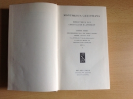 Monumenta Christiana - C.A. Bouman / W.K.M. Grossouw / F. van der Meer / C. Mohrmann