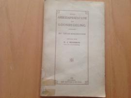 Over arbeidspraestatie en loonregeling - H.J. Hendrikse