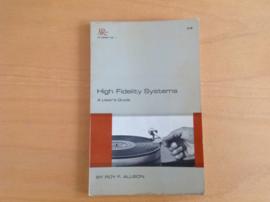 High Fidelity Systems - R.F. Allison