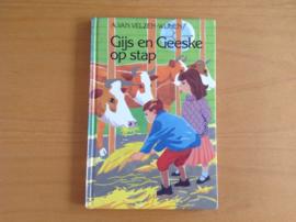Gijs en Geeske op stap - A. van Velzen-Wijnen