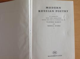 Modern Russian poetry - V. Markov / M. Sparks