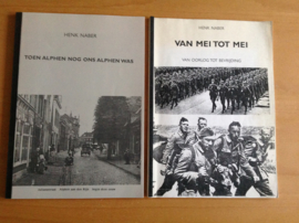 Set van 2 boeken over Alphen aan den Rijn - H. Naber