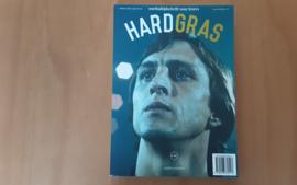Hard gras, no. 104, met Johan Cruijff op de voorkant