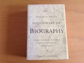Houghton Mifflin dictionary of biography - J. Kaplan