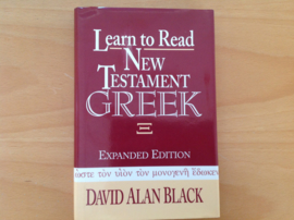 Learn to Read New Testament Greek - D.A. Black