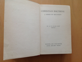Christian Doctrine - R.W. Dale