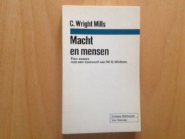 Macht en mensen - C. Wright Mills