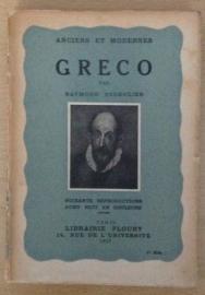 Anciens et modernes Greco - R. Escholier