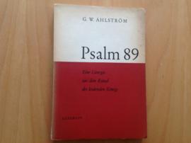 Psalm 89 - G.W. Ahlström