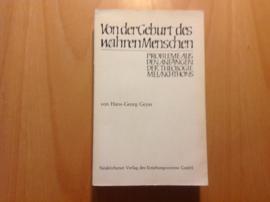 Von der Geburt des wahren Menschen - H.-G. Geyer
