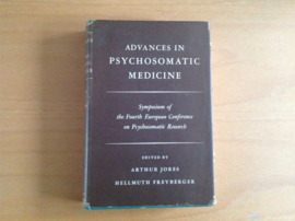 Advances in psychosomatic medicine - A. Jores / H. Freyberger