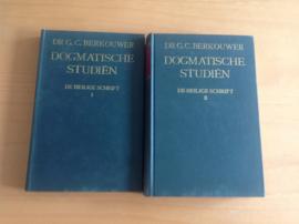 Dogmatische studiën. De Heilige Schrift, deel 1 en 2 - G.C. Berkouwer