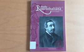 Studia Rosenthaliana, volume 33, number 1, 1999