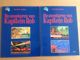 Set a 2x De avonturen van Kapitein Rob, deel 3 en 4 - P. Kuhn