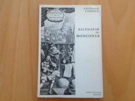 Balthazar de Monconys - S. Cordier