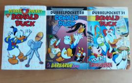 Pakket a 3 Donald Duck dubbelpockets