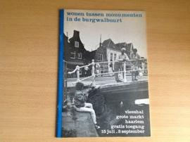 Wonen tussen monumenten in de Burgwalbuurt (Haarlem)