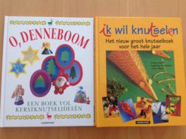 Set a 2 knutselboeken - S. Wetzel-Maesmanns / U. Barff en anderen