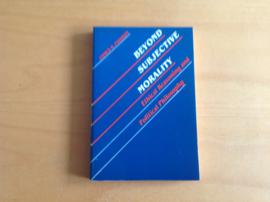 Beyond subjective morality - J.S. Fishkin