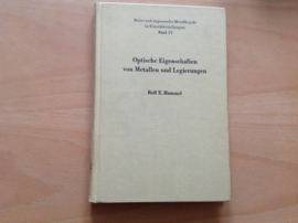Optische Eigenschaften von Metallen und Legierungen - R.E. Hummel