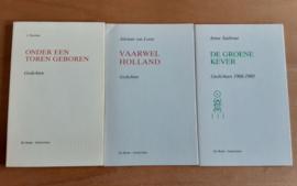 Pakket a 3x gedichten - J. Nienhuis / A. van Leent / A. Sasbout