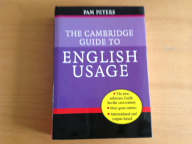 The Cambridge guide to English Usage - P. Peters