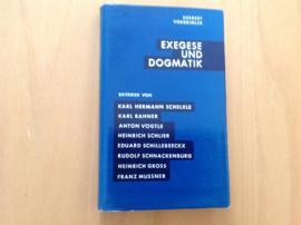 Exegese und Dogmatik - H. Vorgrimler