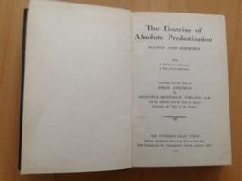 The Doctrine of Absolute Predestination - J. Zanchius