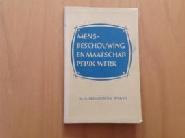 Mensbeschouwing en maatschappelijk werk - G. Brillenburg Wurth