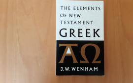 The elements of the New Testament Greek - J.W. Wenham