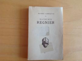 Oeuvres completes de Mathurin Regnier - J. Plattard