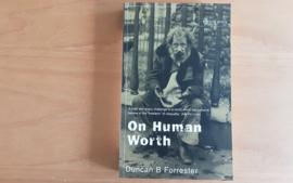 On Human Worth - B.B. Forrester