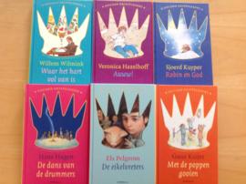 Pakket  a 6x Gouden Griffel jeugdboeken