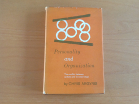 Personality and organization - C. Argyris