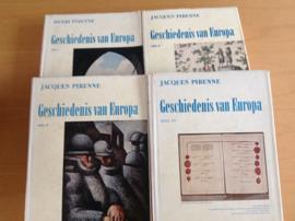 Pakket a 4x Gerschiedenis van Europa - H. Pirenne / J. Pirenne