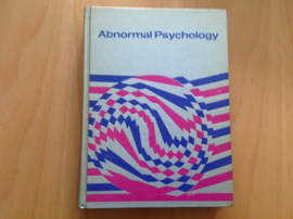 Abnormal psychology: the problem of maladaptive behavior - I.G. Sarason