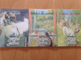 Pakket van 3 JanJaap en Janneke boeken -  A.J. Pleysier