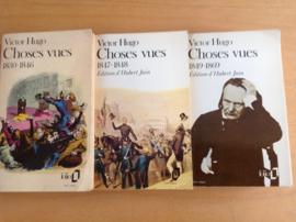 Pakket a 3x Choses vues - V. Hugo