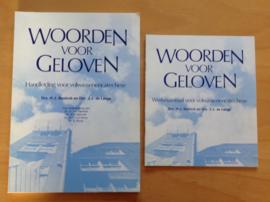 Woorden voor geloven, handleiding en werkmateriaal ... - H.J. Bavinck / J.J. de Lange