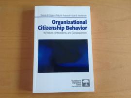 Organizational Citizinship Behavior - D.W. Organ / P.M. Podsakoff / S.B. Mackenzie